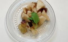【レシピ】秋のフルーツマリネ ビタミン類をしっかり補給